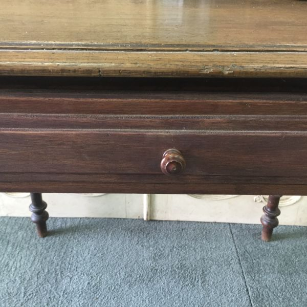 Antique French Henri II Chestnut Writing Table Desk - i118 View8