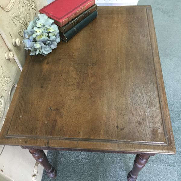 Antique French Henri II Chestnut Writing Table Desk - i118 View10