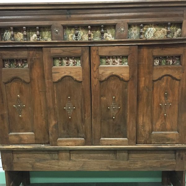 Rare Antique French Oak Lit - Clos Enclosed Bed Fabulous Television Cabinet - Library Bookcase - Bedhead - i252 View9