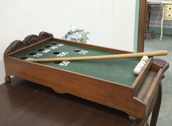 Antique French Table Top Billiard Game - i064 View5