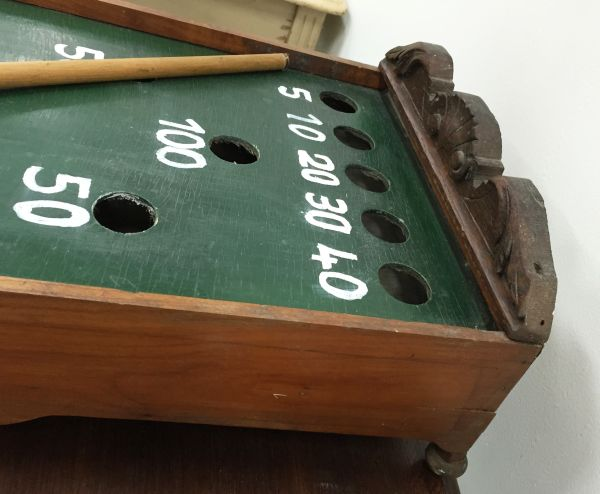 Antique French Table Top Billiard Game - i064 View7
