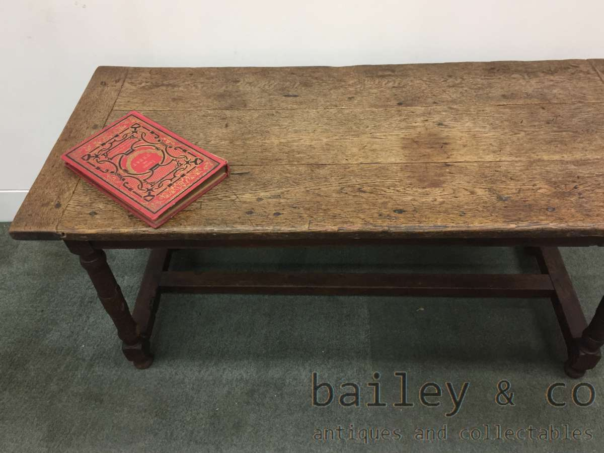 A superb antique french oak coffee table stretcher base for Coffee tables ebay australia