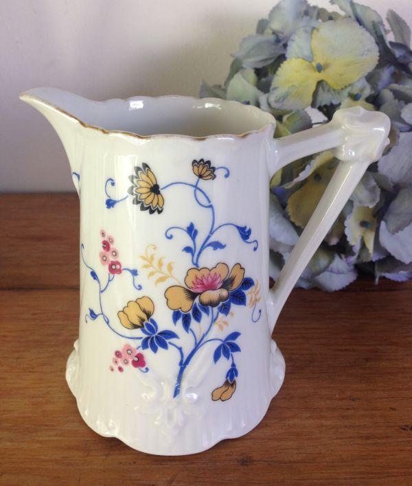 Antique French & Cie Limoges Floral Porcelain Coffee Set - a536 View10